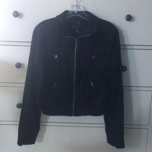 FullTilt Black Zip Up Jacket- Size XL (EUC)
